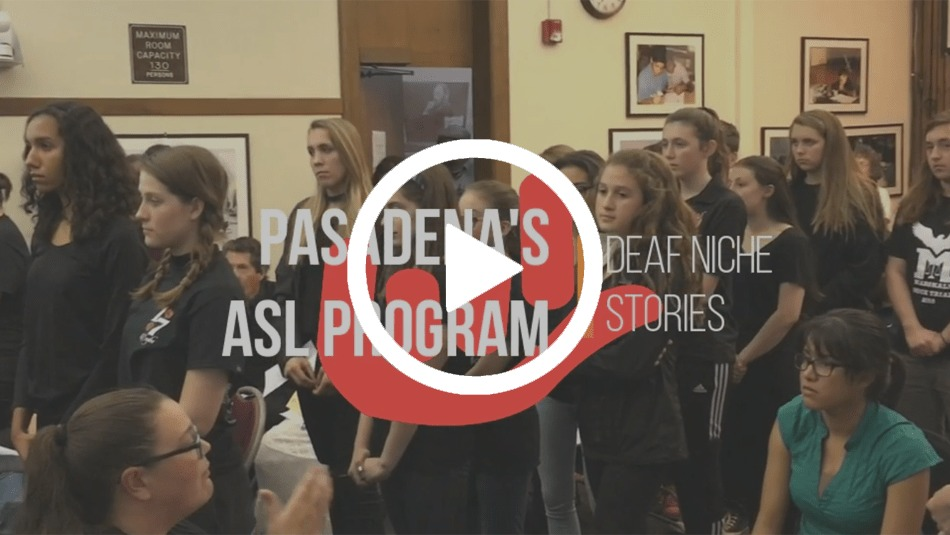 Pasadena's ASL Program Declared To Continue -